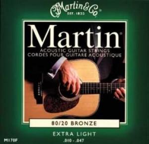 cordes martin guitare